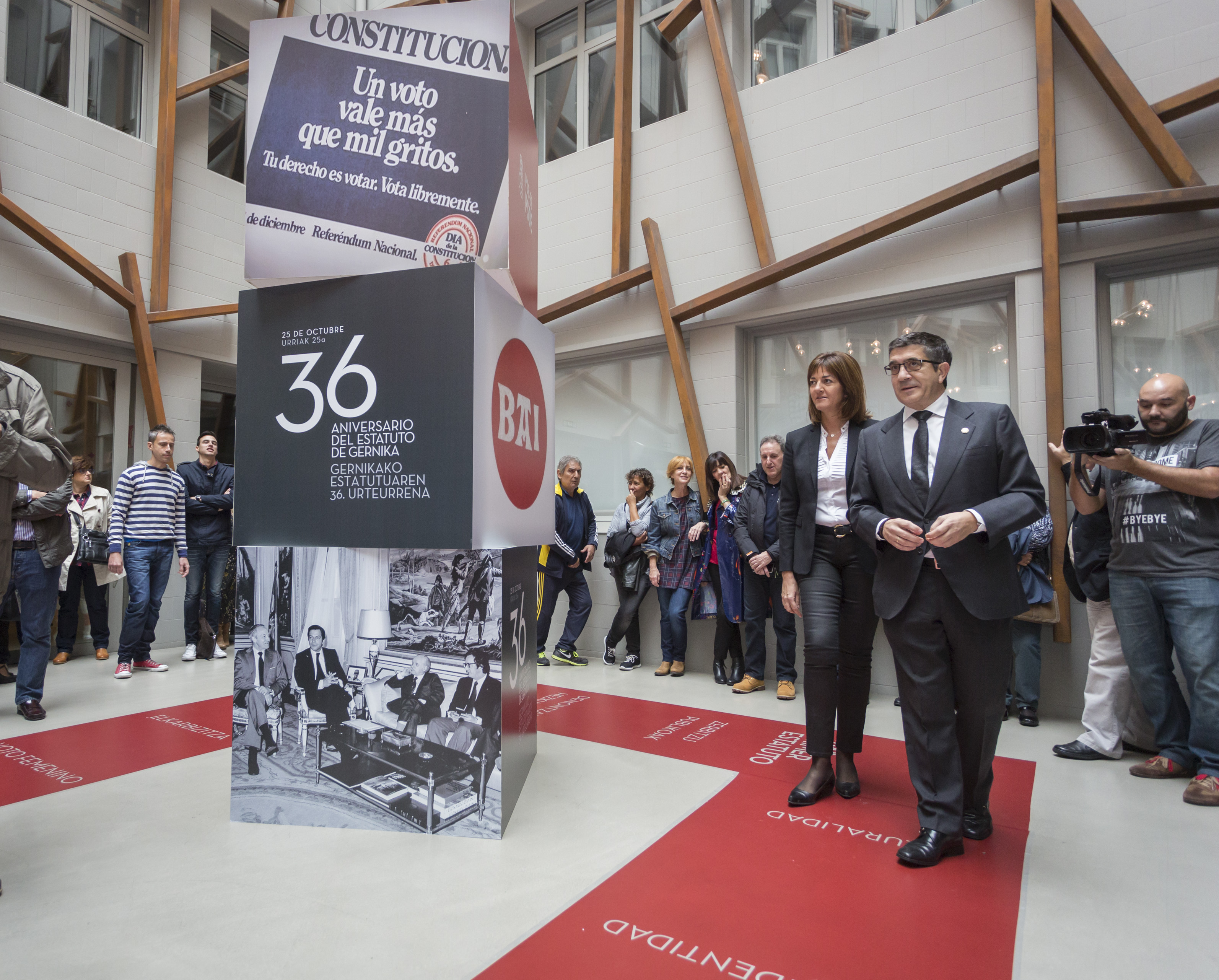 36 aniversario del Estatuto de Gernika