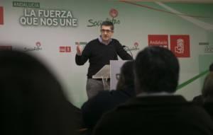 Patxi López en Almería