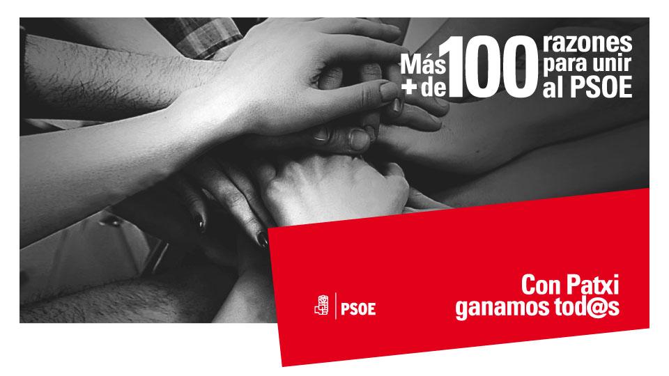 100 razones para unir al PSOE